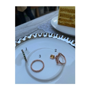 Stackable Rings (1/2/3) (will ship within 1~2 weeks)