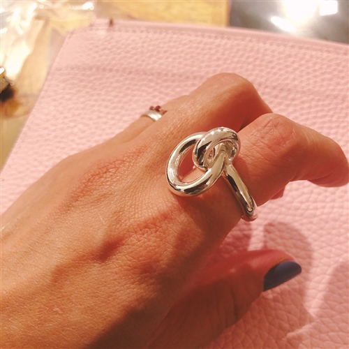 Silver925 Two Rings 김나영 반지 (11~17) (will ship within 1~2 weeks)