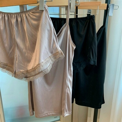 Home-wear Set (Beige/Black) (will ship within 1~2 weeks later)
