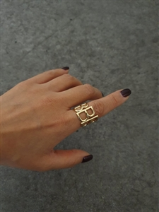 B Ring (Gold/Silver) (will ship within 1~2 weeks later)