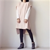 (2nd Reorder) Pink Unbalance Vest Dress
