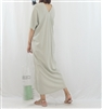 (Best; 3rd Reorder) Mint Both Side V Neck Stylish Dress (will ship within 1~2 weeks)