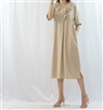 (Best; 2nd Reorder) Beige Front Ruffle Dress
