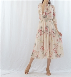 (Best; 2nd Reorder) Lovely Flower Dress