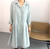 (Pre-Order) Mint Clean Cotton Dress (will ship within 1~2 weeks)