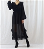 (Best; 2nd Reorder) Black Marant Chiffon Dress (will ship within 1~2 weeks)