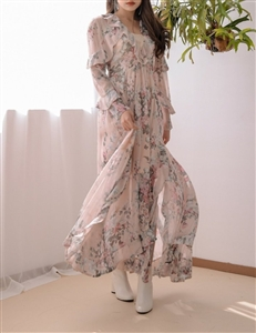 (~02/14) Pink Zimmer Aerial Dress (S/M) (will ship within 1~2 weeks)