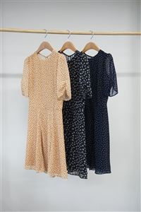Reformation Dress (Mustard/Black/Navy) (S/M) (will ship within 1~2 weeks)