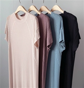 Issey Dress (Black/Ivory/Beige/Blue) (will ship within 1~2 weeks)