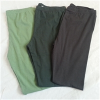 Spring/Summer Leggings<br>Light Green/Deep Green/Charcoal