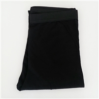 (Our Choice) Black Waist Banded Leggings