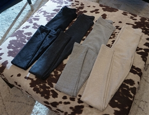 (Best; 3rd Reorder) Basic Must Have kimo Leggings (Black/Gray/Oatmeal) (will ship within 1~2 weeks)