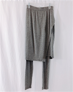 (Event; Final Sale) Gray Skirt Leggings 113