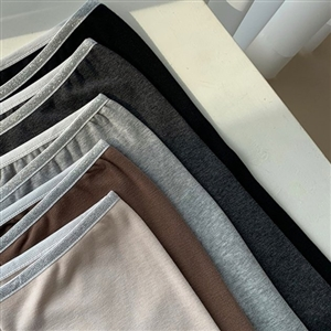 Kimo Leggings (LightBeige/Brown/Charcoal/Melange/Black) (will ship within 1~2 weeks)