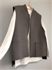 (2nd Reorder) Gray Bonding Vest