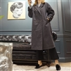 (Best; 2nd Reorder) Charcoal Coating Cotton Trench Jacket
