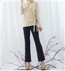 (Best; Back-Order; 3rd Reorder) Ivory Wrap Tied Cardigan