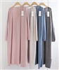 (Pre-Order) Cashmere WholeGarment Long Cardigan (Pink/Beige/Blue/Gray) (will ship within 1~2 weeks)