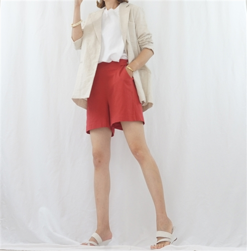 (Pre-Order) Oatmeal Linen Jacket (will ship within 1~2 weeks)