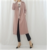 Sandro Trench Coat (Beige/Navy/Pink) (will ship within 1~2 weeks)