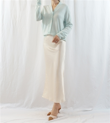Mint Must Have V Line Cardigan (will ship within 1~2 weeks)