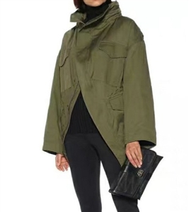 Balen Jacket (Olive/Black) (S/M/L) (will ship within 1~2 weeks)