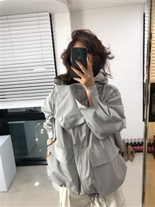 AC Jumper (Gray/Black)(will ship within 1~2 weeks)