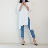 (3rd Reorder; Our Choice) Light Jean Stylish Jeggings (S)