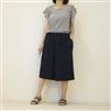 Black Pleated Skirt Pants