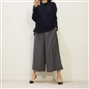 (3rd Reorder) Charcoal Chl** Formal Vent Skirt Pants 2 (Large)