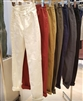 (Pre-Order) Fall Skinny Jeggings (S/M/L) (White/Wine/Beige/ Khaki/Navy/Charcoal/Black) (will ship within 1~2 weeks)