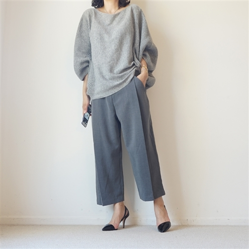 (2nd Reorder) Gray Luxury Formal Pants