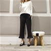 (Best; 2nd Reorder) Black Frill Pants