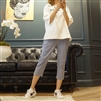 (Best; 3rd Reorder) SkyBlue Star Point Baggy Pants (7~8부)