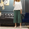 (Best; 3rd Reorder) Green 3/4 Summer Pants