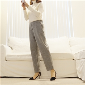 (Best; 2nd Reorder) Gray Soft Wool Pants