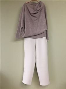(Best; Back-Order; 2nd Reorder) Ivory Warm Pants (will ship within 1~2 weeks)