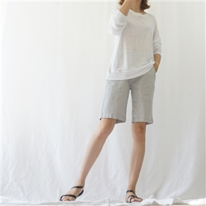 (Summer Special) Gray Cotton Short Pants