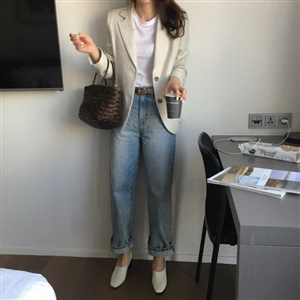 Toteme Style Wide Jeans (55/66) (will ship within 1~2 weeks)