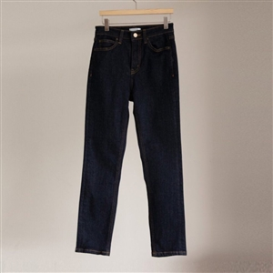 Slim Cropped Indigo Denim (55/66) (will ship within 1~2 weeks)