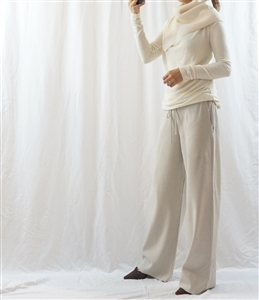 (Big Sale) Beige Cashmere Knit Pants (will ship within 1~2 weeks)