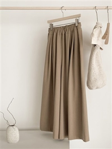 TT Wide Pants (Beige/Brown/Black) (will ship within 1~2 weeks)