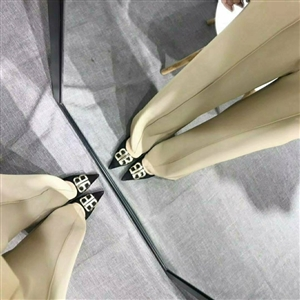 Beige Chloe Pants (S/M/L) (will ship within 1~2 weeks)
