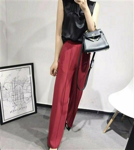 Red Chloe Pants (S/M/L) (will ship within 1~2 weeks)