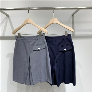 Semi Formal Pants (Gray/Navy)(S/M) (will ship within 1~2 weeks)