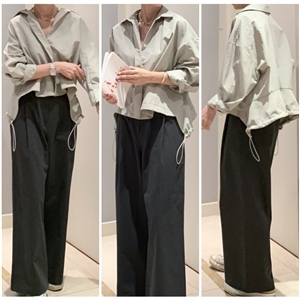 Did Cotton Pants (Oat/Beige/DeepGray) (will ship within 1~2 weeks)