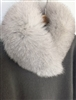 (Best, 3rd Reorder) Silver Gray Fox Fur
