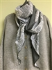 (Pre-Order) Gray Paiseley Cotton Scarf (will ship within 1~2 weeks)