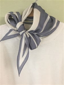 (Pre-Order) Gray Blocked Scarf (will ship within 1~2 weeks)
