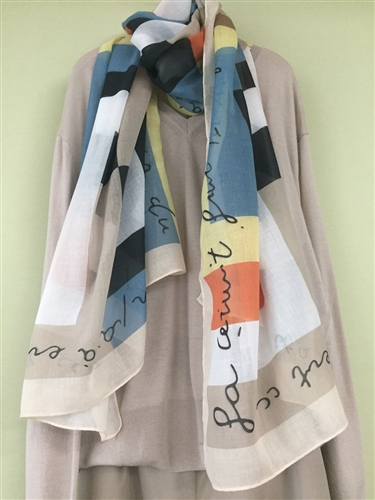 (Pre-Order) French Scarf (will ship within 1~2 weeks)